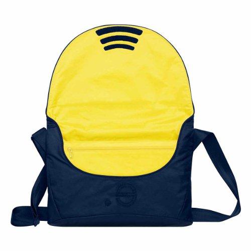 Be.ez LA Garde Robe Chic Marine Bag for 13 inch Apple MacBook Pro - Marin/Yellow