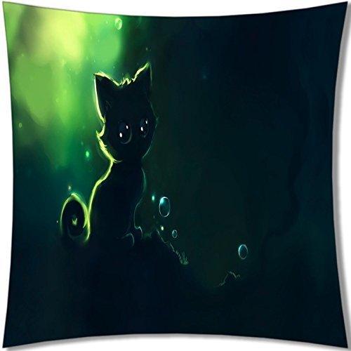 B-ssok High Quality of Lovely Cat Pillows 18X18 092