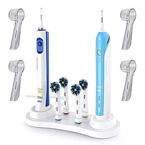 Base Soporte Porta Cepillo de Dientes Eléctrico Para Oral B – Incluye...