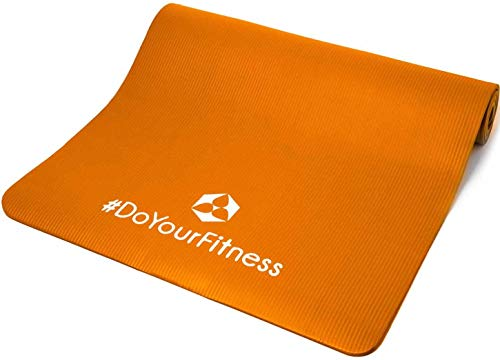 #DoYourFitness World Fitness »Ashanti« Fitnessmatte 190 x 100 x 1 cm Orange