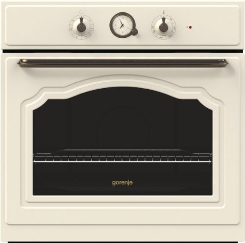 Gorenje BO 73 CLI Backofen Elektro / A / 67 Liter / elfenbein / Backmuffe Homemade / AquaClean / Classico Collection