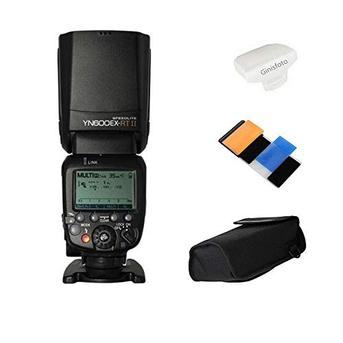 Yongnuo yn600ex-rt II Flash Speedlite für yn-e3-rt, Canon 's 600EX-RT/st-e3-rt Wireless Signal Kamera, LCD-Display, USB Firmware Upgrade, 1/8000sec Sync Geschwindigkeit