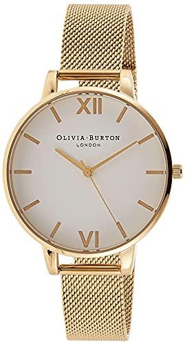 Olivia Burton Reloj Analógico para Mujer de Cuarzo con Correa en Acero Inoxidable OB15BD84