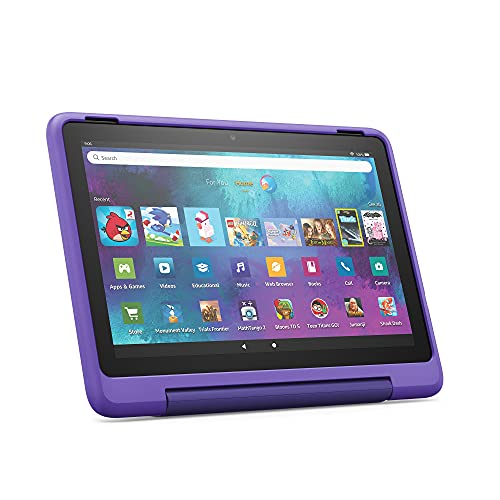 New: Fire HD 10 Kids Pro tablet | for ages 6-12 | 10.1', 1080p Full HD, 32...