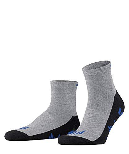 Burlington Sport Kurzstrumpf Running angenehme Materialien Größe 40-46 Herren schwarz blau viele weitere Farben verstärkte Sportsocken ohne Muster gepolstert kurz mit Frotteesohle zum Laufen 1 Paar