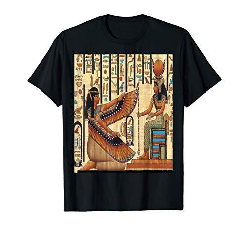 Göttin Isis | Alter Kemet | ägyptischer Abgabe Pharao T-Shirt