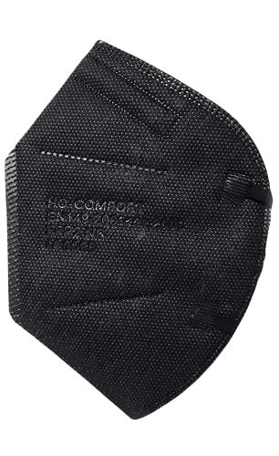 SALO MED 20x Masken FFP2 Schwarz - CE zertifiziert 0598 - Box 20 Stück