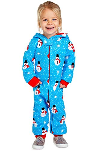 Baby Snowman is an Island Christmas Pajamas - Cute Xmas PJS for Infant: 18-24M