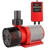 24V DC Return Water Pump 2245 GPH 19ft Lift with Controller Wave Function for Ponds Aquarium Statuary Hydroponics Aquaponics 8500L/H