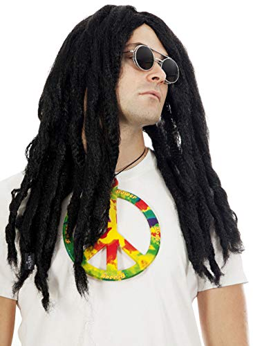 Dreadlocks Wig Rasta Reggae Costume Beach Bum Dreadlock Wigs Hippie....