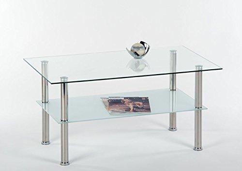 Lisa NEU Couchtisch - Glasplattentisch
