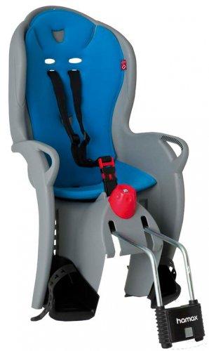 Hamax Fahrradkindersitz Kindersitz Sleepy grau/hellblau