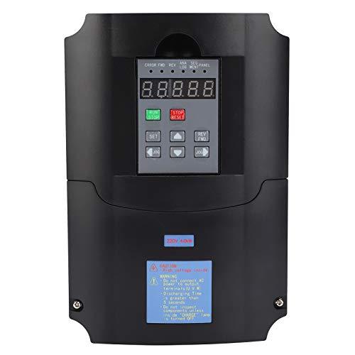Inversor A2-8040, controlador de velocidad del motor 4Kw, inversor monofásico trifásico 220V salida inversor ventilador trifásico 220V