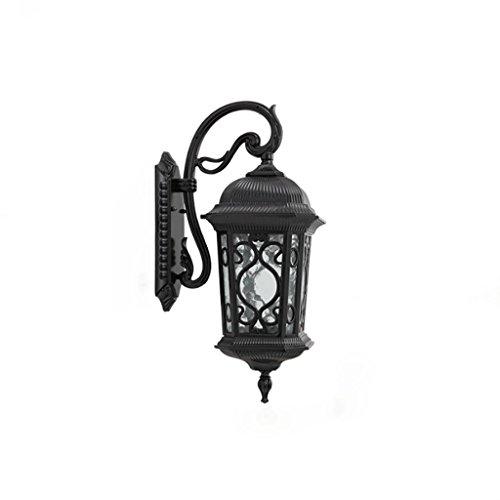 NJ Wandlamp, vintage, aluminium, legering, voor balkon, waterdicht, led, buitenverlichting, woonkamer, eetkamer, hal, muur, tuin, verlichting