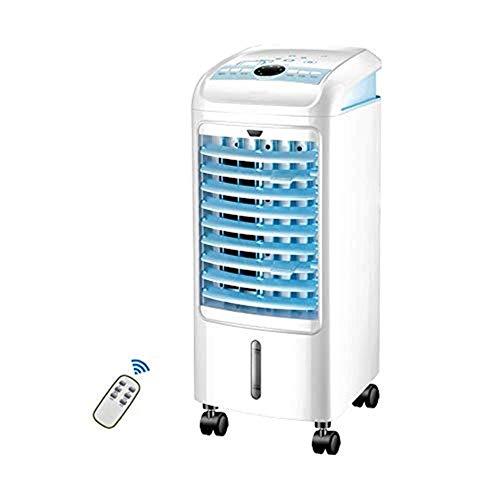 QIURUIXIANG Enfriadores, enfriador evaporativo, un ventilador de refrigeración unidad de aire acondicionado, un consumidor móvil y ventilador de refrigeración comercial con control remoto QU529