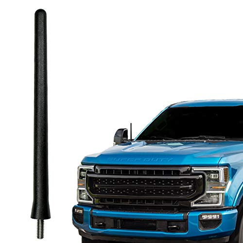 AntennaMastsRus - The Original 6 3 4 Inch Antenna fits Ford F-250 Super Duty (2017-2021) - USA Stainless Steel Threading - Car Wash Proof - Internal Copper Coil - Premium Reception