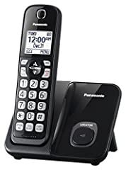 ONE TOUCH TELEPHONE CALL BLOCK - Register up to 150 numbers with one-touch Call Block on the cordless phone base unit & cordless handset. Compatible with Hearing Aid T-Coil (TIA-1083 Compliant) HIGH-CONTRAST DISPLAYS and KEYPADS – Large 1. 6 inch bac...
