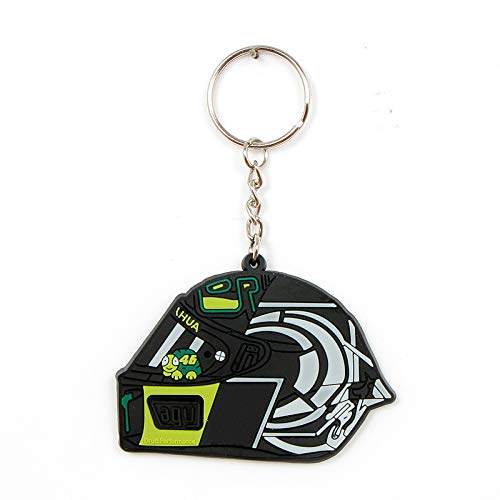 Gigicloud Mini llavero de moto, diseño creativo, de goma, para decoración de llaves, B