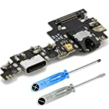 MMOBIEL Repuesto Conector Dock Carga USB Typ C 1.0 Compatible con Xiaomi Mi A1 Incl. Conexión Micrófono y Altavoz