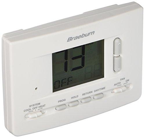 BRAEBURN 2020 Thermostat, Universal 7, 5-2 Day or Non-Programmable, 1H/1C