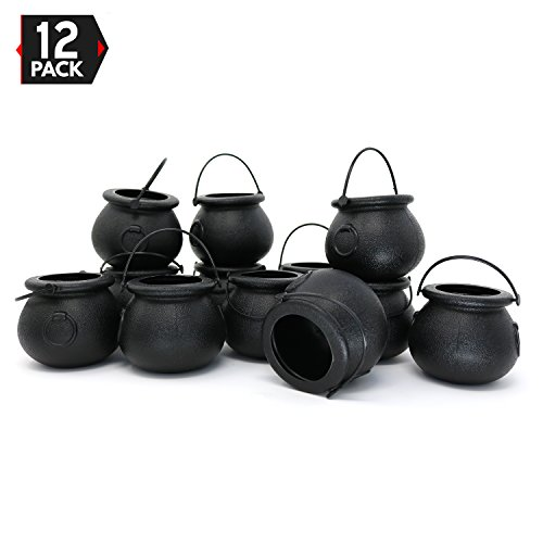 Find Cheap Candy Cauldron Kettles - 1 Dozen Party Decoration Supplies by Big Mo's Toys