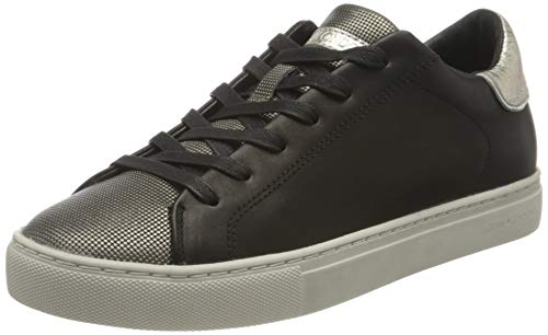 Crime London Damen Beat Sneaker, Black, 41 EU