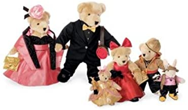 The Muffy VanderBear Family, Red Carpet Collection - Set of 6