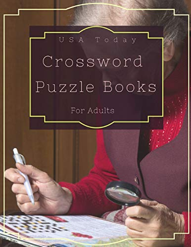 USA Today Crossword Puzzle Books For Adults: Crossword Memory Activities, Cross-train your brain. All it takes is ten to fifteen minutes a day of playing the right games. (It's fun.)