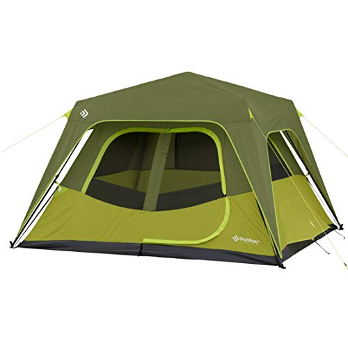 Outdoor Products 4 Person / 6 Person / 8 Person / 10 Person Instant Cabin Tent (6 Person)