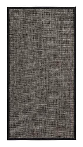 andiamo Outdoor Teppich Koos Terrassenteppich Außenteppich grau, 60x120 cm