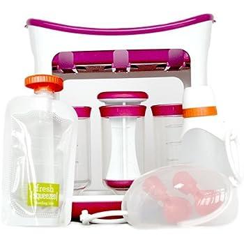Infantino – DIY Dishwasher Safe Easy to Use Squeeze Station Feeding Kit