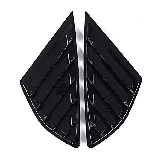 Rumors Cubiertas de ventilación Lateral del Panel del Panel de la Parte Trasera del automóvil Cubiertas de persianas para Ford Fusion 4 Puerta