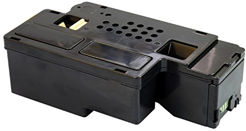 Yellow Yeti 593-11016 (2,000 Pages) Compatible Black Toner Cartridge for use with Dell C1765nfw C1765nf C1760nw 1250c 1350cnw 1355cn 1355cnw