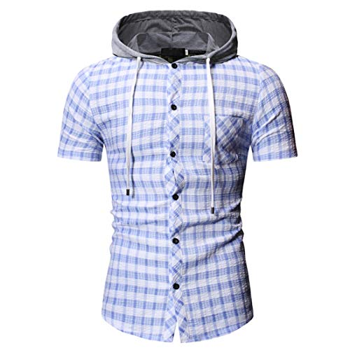ZGRNPA Herren Hoodie Langarm Sweatshirt Sport Pullover Herbst Winter Frühling Leichte Casual Slim Fit Classic Sweater Top Ärmellose Shirts Casual Flanell Plaid Shirt Arbeitsweste
