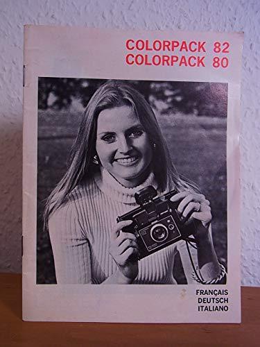 Polaroid Colorback 82, Colorback 80. Gebrauchsanweisung [français - deutsch - italiano]