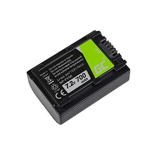 Green Cell® Batteria per Sony FDR-AX33 Fotocamera Digitale (Li-Ion celle 700mAh 7.2V)