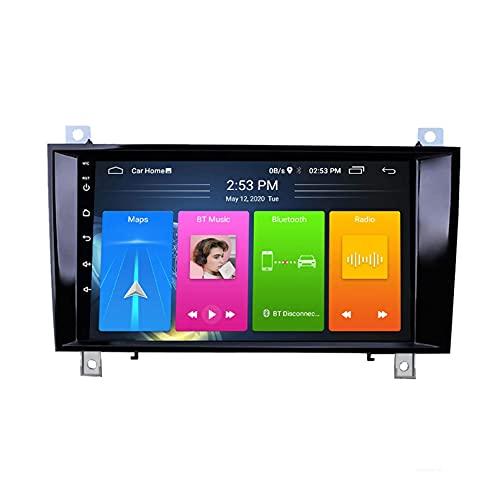Android 10.0 Autoradio Per Mercedes Benz SLK R171 W171 2000 2000 2001-2011 Car Stereo GPS Navigazione Touch Display Auto Media Player Doppia Din Head ; Supporto WiFi Controllo (4G+WIFi,2+32G)