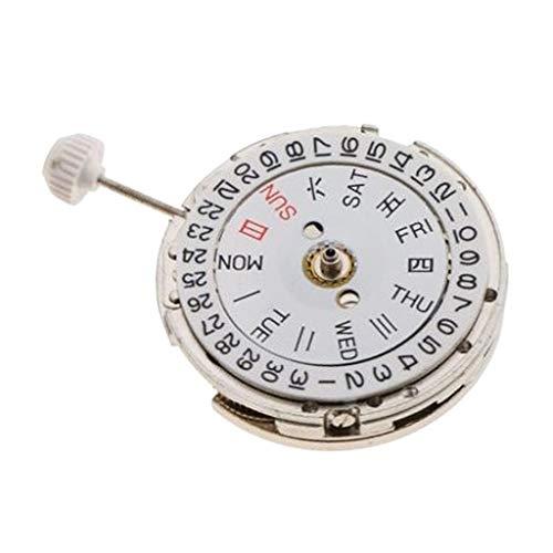 IPOTCH Parte Dell'orologio Da Polso Automatico Con Data Di Movimento Dell'orologio Meccanico Per Miyota 8205