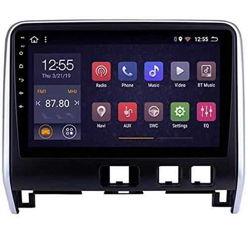 Compatible con Nissan Serena 2016-2018 Android 9.0 Car Stereo Radio Double Din Sat Nav Navegación GPS Reproductor multimedia con pantalla táctil de 9 pulgadas Receptor de video con 4G DSP Carplay