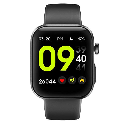 V12C Fitness Smart Watch with 24/7 Heart Rate Monitor, IP68 Waterproof Activitity Tracker Exercise Pedometer...