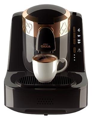 Arzum Okka Ok001 Automatic Turkish/Greek Coffee Machine, 220 – 240 V, Eu Plug Black