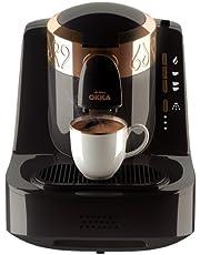 Arzum Okka Turkish Coffee Maker, Black/Copper, OK001B