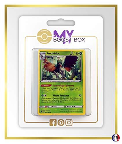 Archéduc (Decidueye) 13/189 Holo - Myboost X Epée et Bouclier 3 Ténèbres Embrasées - Box de 10 Cartas Pokémon Francés