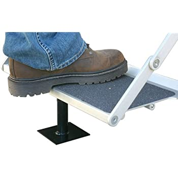 """Camco Save-A-Step Brace, Stabilizes RV Steps and Helps Prevent RV Movement. Protects RV Steps from Sag and Wear (4-5/8""""-8"""") (43681)"""