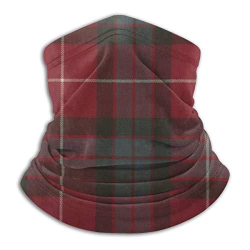 asdew987 Fraser - Protector facial para hombre, 25 x 30 cm, color rojo