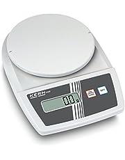 Balanza de laboratorio para principiantes con fantásticas prestaciones de pesaje [Kern EMB 500-1] , Campo de pesaje [Max]: 500 g, Lectura [d]: 0,1 g