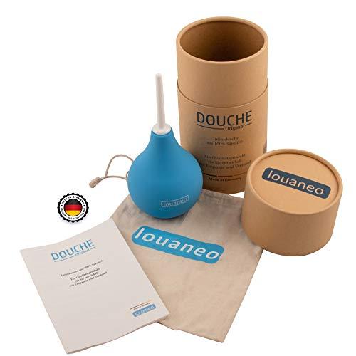 louaneo® DoucheOriginal 247ml Bidet, Laxative, Irrigator zur Reinigung. Klysma, Einlauf, Klistier, Intimdusche aus 100% Sarolit. Hergestellt in Deutschland