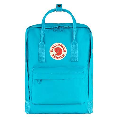 Fjallraven, Kanken klassisk ryggsäck för vardagen Djup turkos En storlek