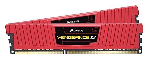 Corsair Vengeance LPX 8GB DDR4-2400 Memorie per Desktop a Elevate Prestazioni, 8 GB (2 X 4 GB), DDR4, 2400 MHz, C16 XMP 2.0, Rosso, dissipatore calore