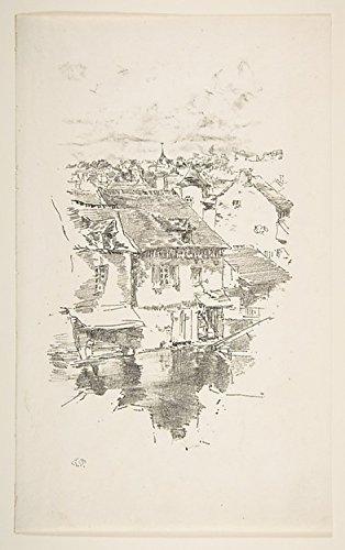James McNeill Whistler РVitr̩: The Canal Kunstdruck (45,72 x 60,96 cm)